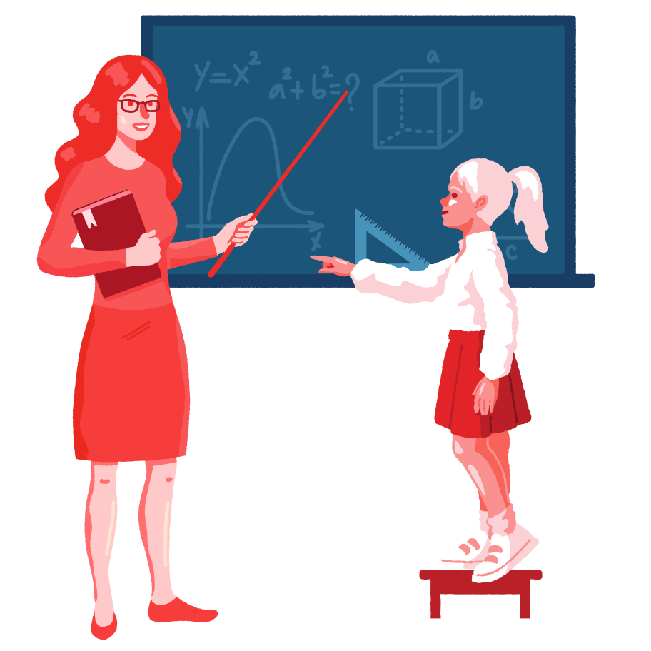 Geometry lesson Clipart illustration in PNG, SVG