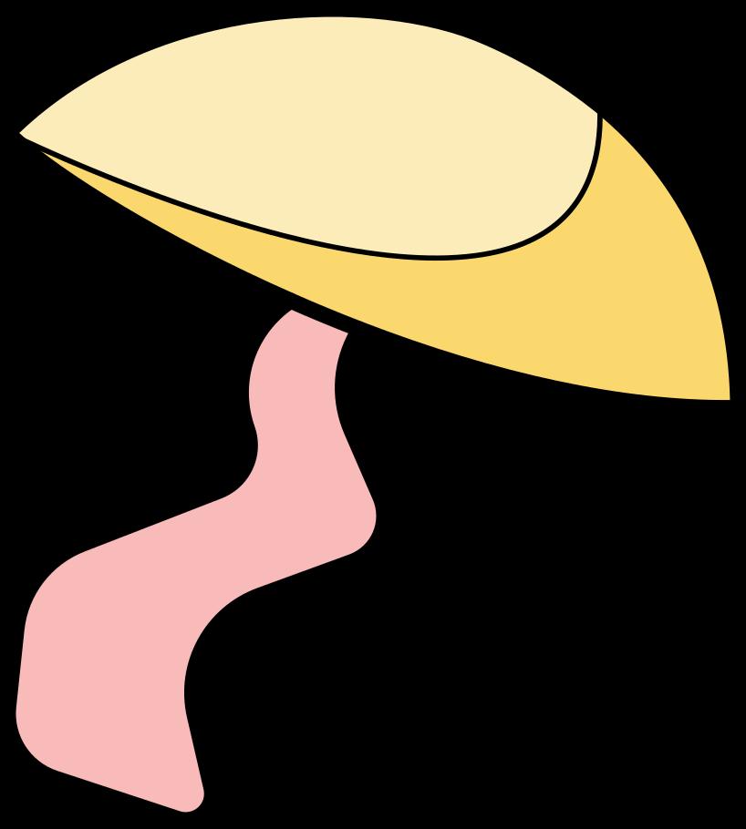 Pilz Clipart-Grafik als PNG, SVG