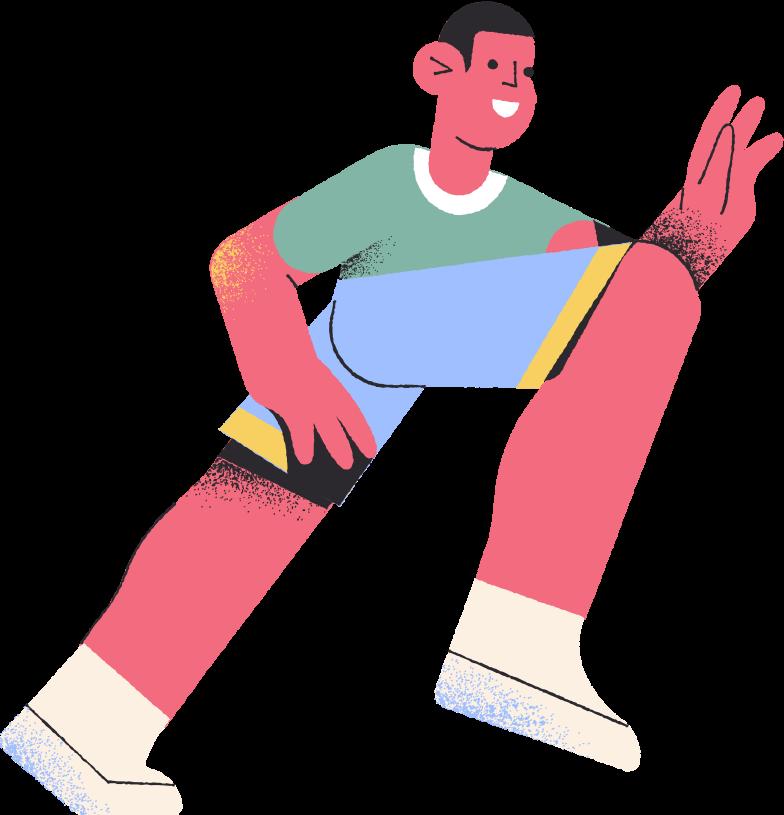Ilustración de clipart de sportsman en PNG, SVG