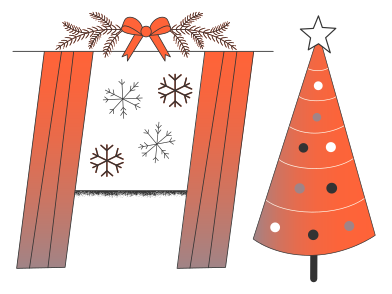 style Christmas is coming images in PNG and SVG | Icons8 Illustrations
