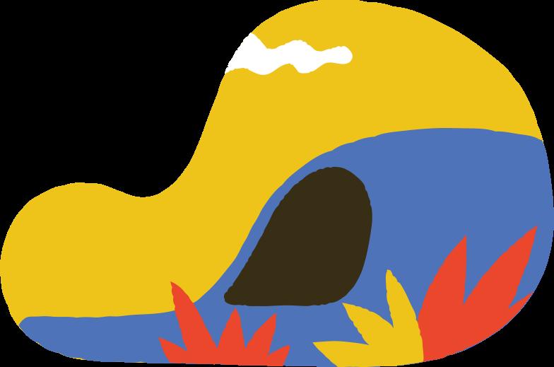 cave Clipart illustration in PNG, SVG
