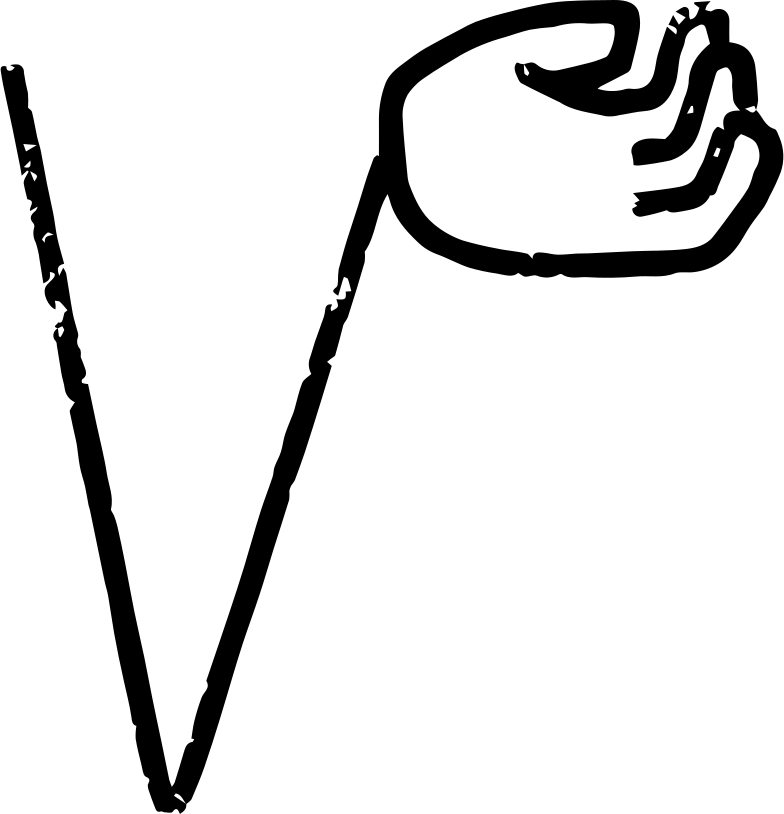 hand right Clipart illustration in PNG, SVG