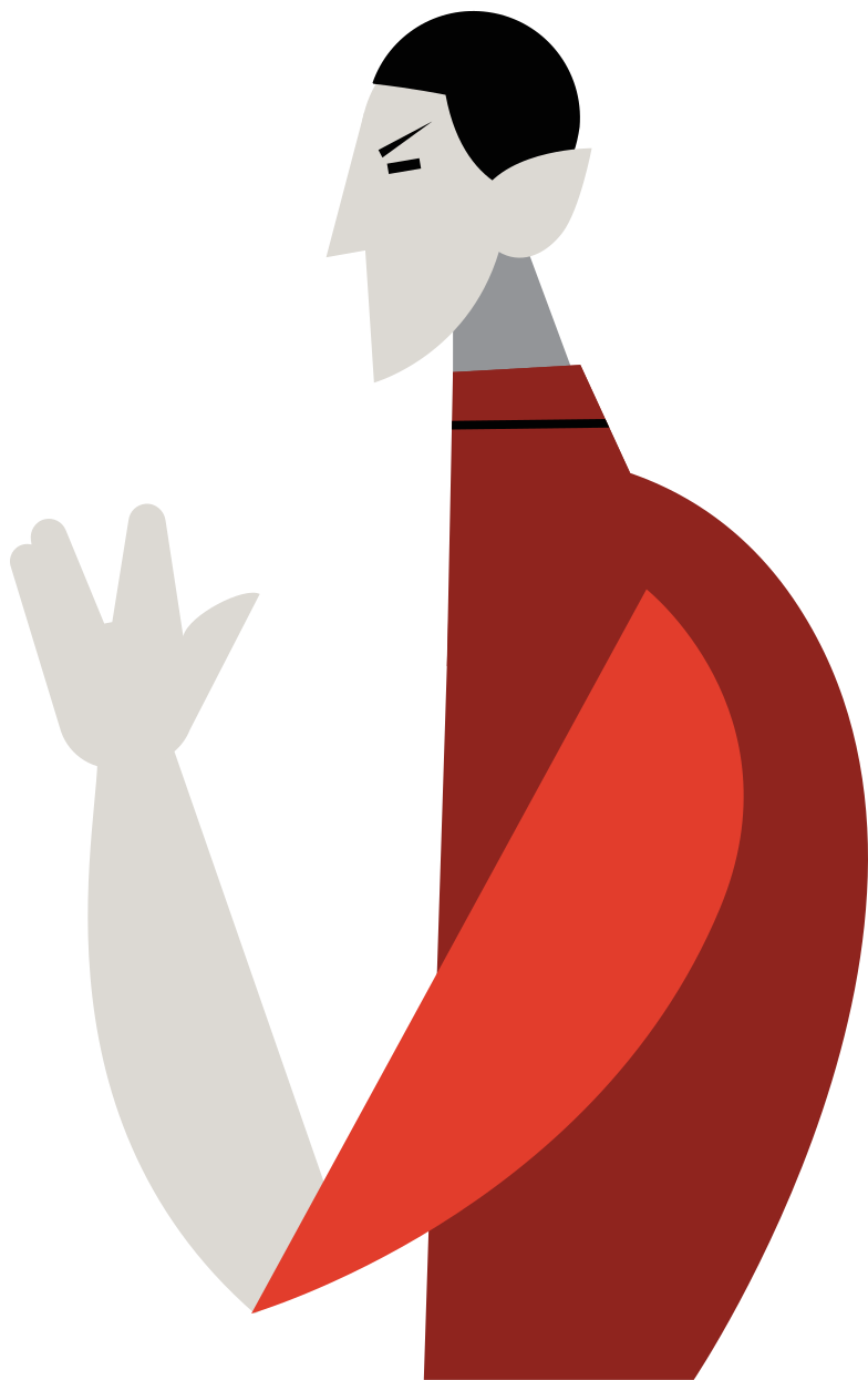 mr. spock Clipart illustration in PNG, SVG