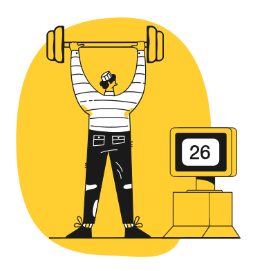 style Weightlifting images in PNG and SVG | Icons8 Illustrations