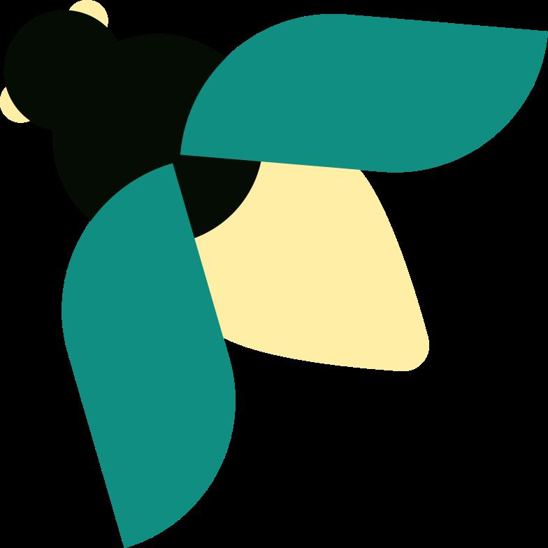 蜂 のPNG、SVGクリップアートイラスト