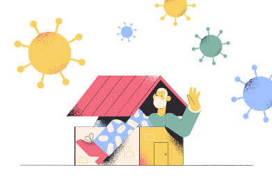 style Staying home images in PNG and SVG | Icons8 Illustrations