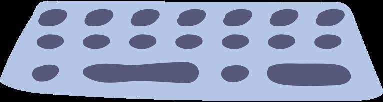 Computer tastatur Clipart-Grafik als PNG, SVG