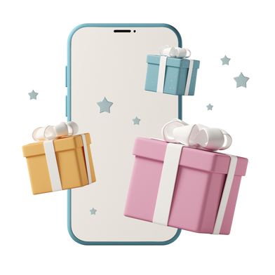 style Buying presents images in PNG and SVG | Icons8 Illustrations