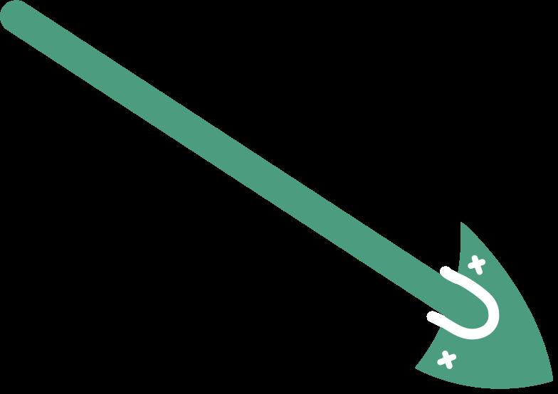 shovel Clipart illustration in PNG, SVG