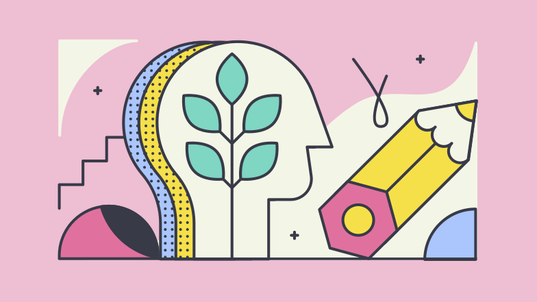 Personal growth Clipart illustration in PNG, SVG
