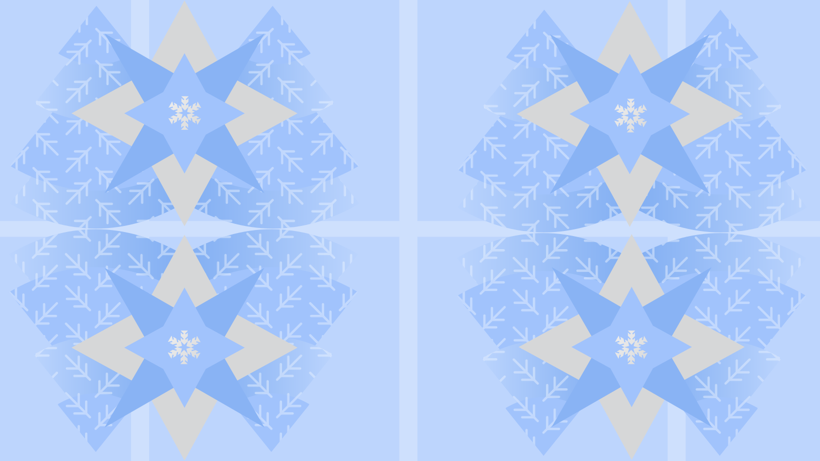 Christmas trees and snowflakes Clipart illustration in PNG, SVG