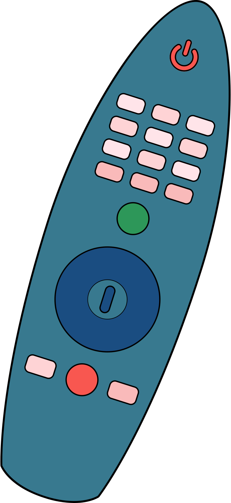magic remote Clipart illustration in PNG, SVG