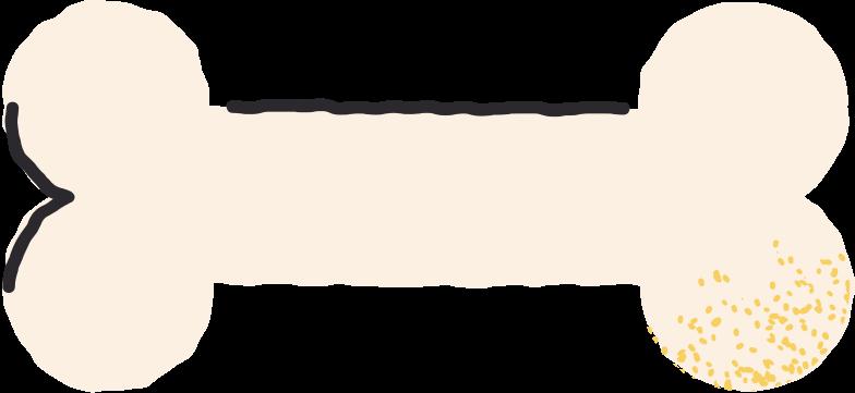bone Clipart illustration in PNG, SVG