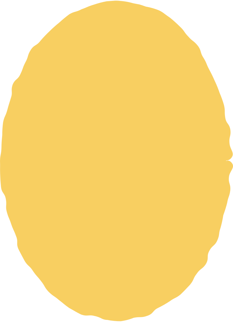 ellipse yellow Clipart illustration in PNG, SVG