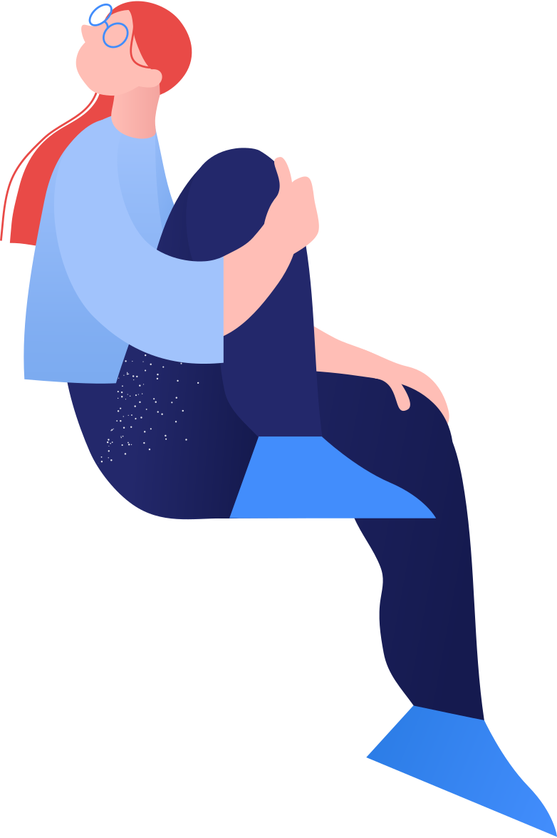 style sitting girl Vector images in PNG and SVG | Icons8 Illustrations