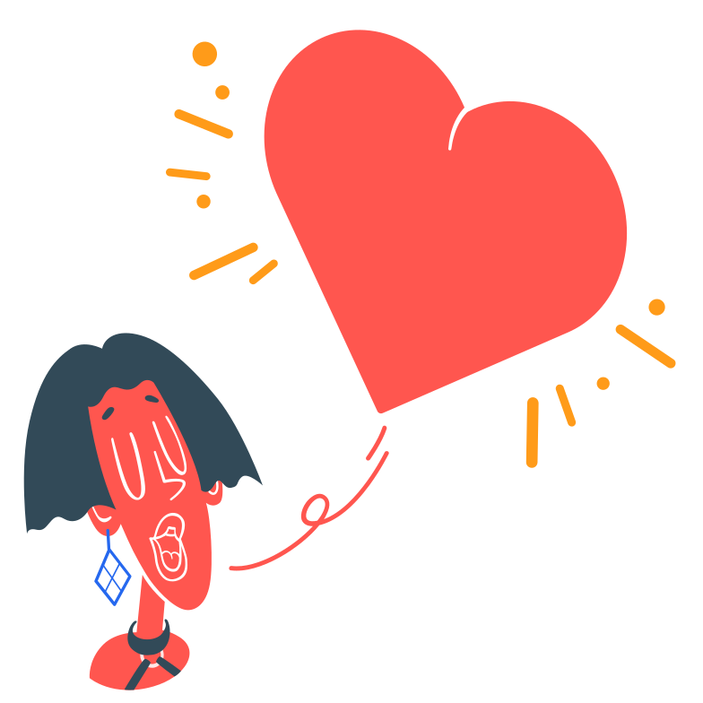style Sending love Vector images in PNG and SVG | Icons8 Illustrations