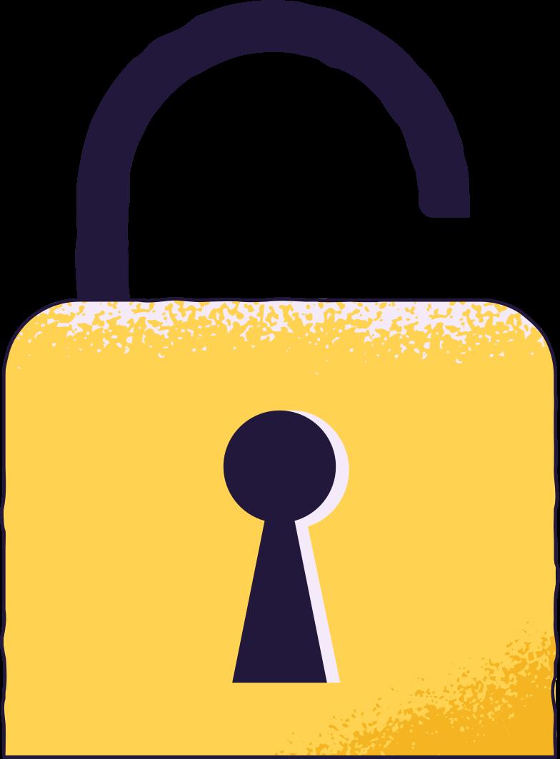 log in  unlocked Clipart illustration in PNG, SVG