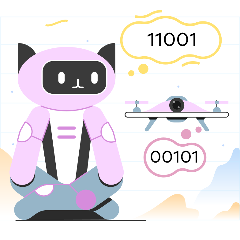 style Robots and drones Vector images in PNG and SVG | Icons8 Illustrations