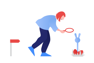 style Easter Egg Hunt images in PNG and SVG | Icons8 Illustrations