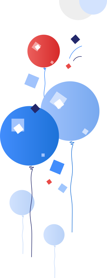 balloon Clipart illustration in PNG, SVG