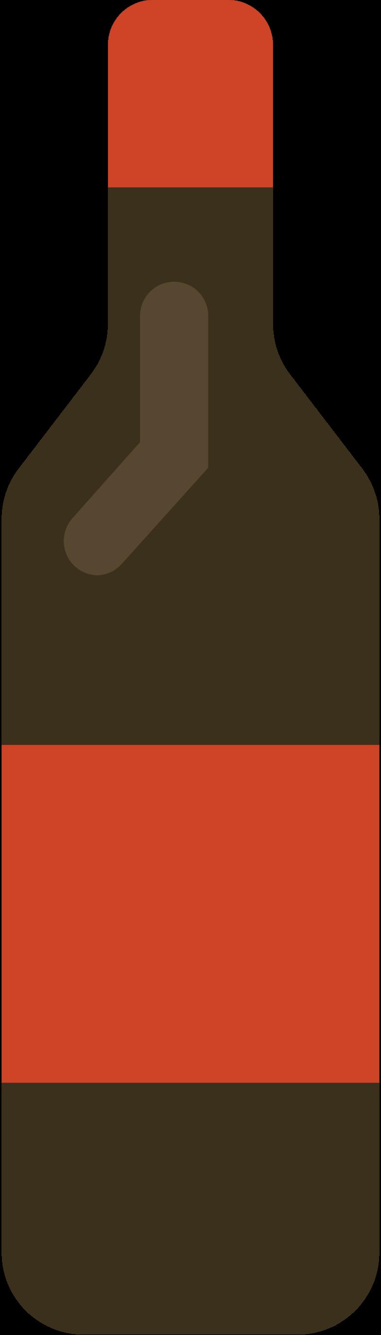 wine bottle Clipart illustration in PNG, SVG