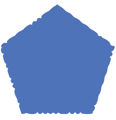 style pentagon blue images in PNG and SVG | Icons8 Illustrations