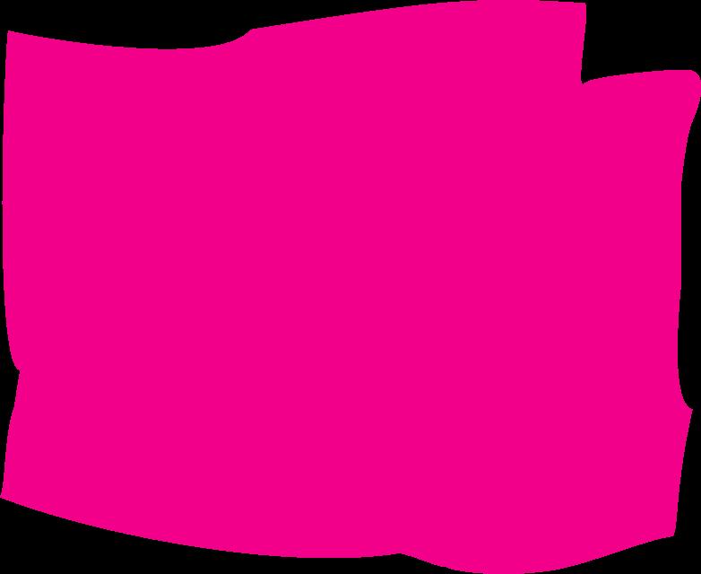 pink rectangle Clipart illustration in PNG, SVG