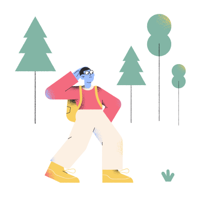 style Lost in the forest images in PNG and SVG | Icons8 Illustrations