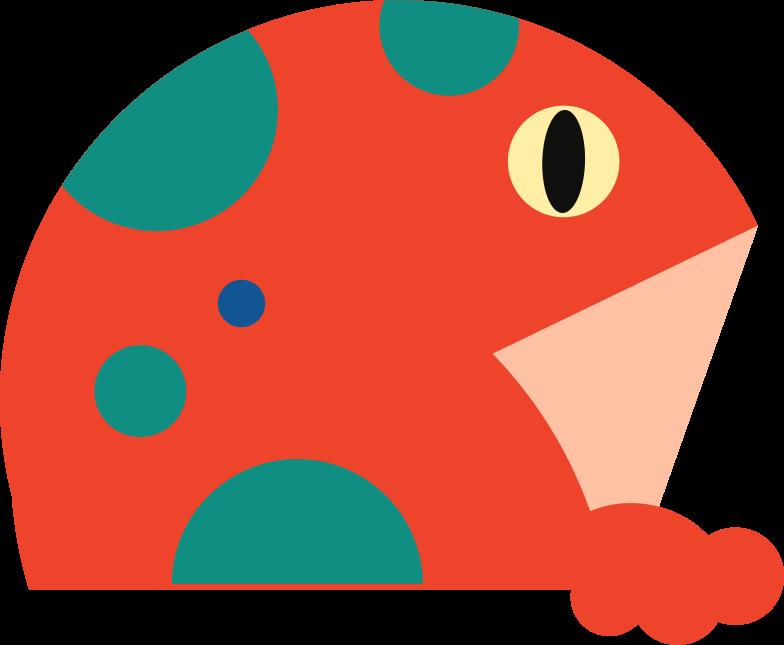 frog Clipart illustration in PNG, SVG