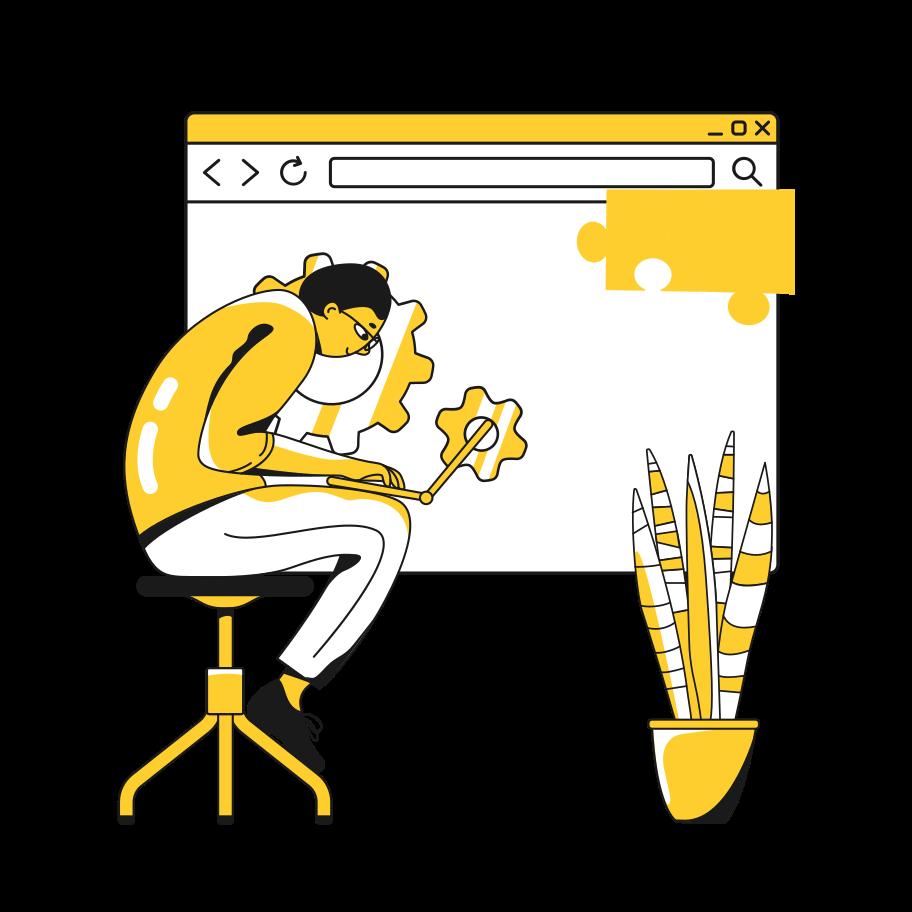 Imágenes vectoriales Diseño web en PNG y SVG estilo  | Ilustraciones Icons8