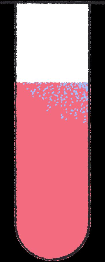 test tube red Clipart illustration in PNG, SVG