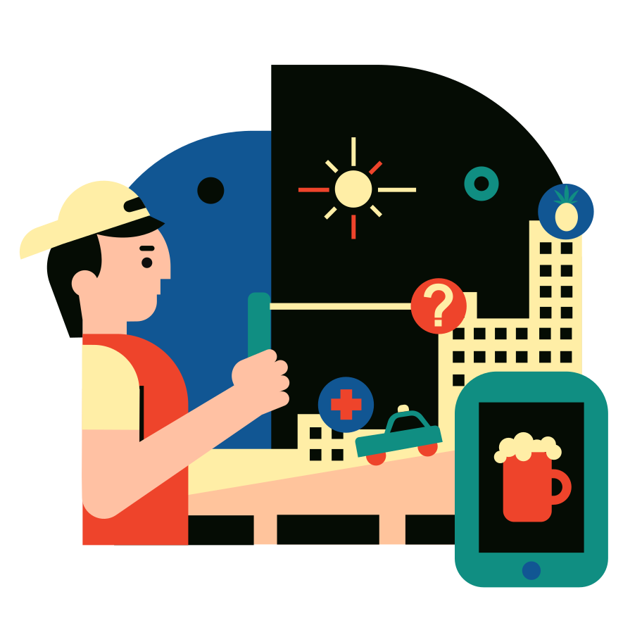 Augmented Reality Clipart illustration in PNG, SVG