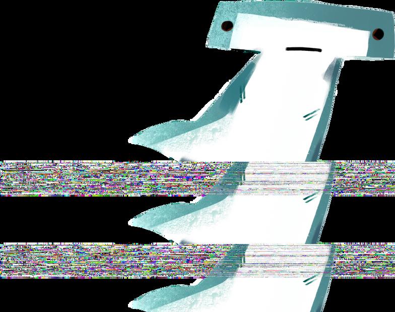 Ilustração de clipart de hammerhead shark em PNG e SVG