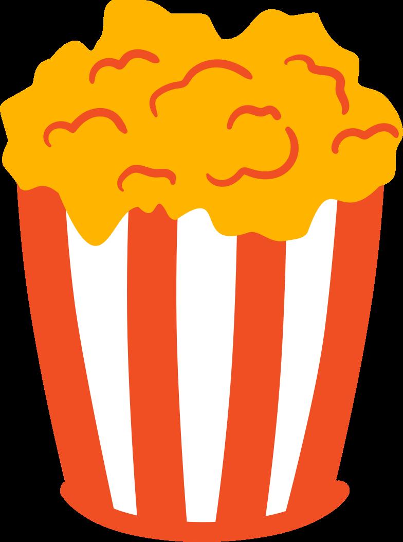 popcorn Clipart-Grafik als PNG, SVG