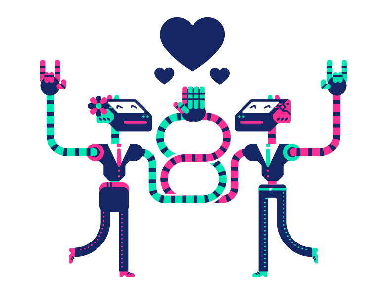 Office affair Clipart illustration in PNG, SVG