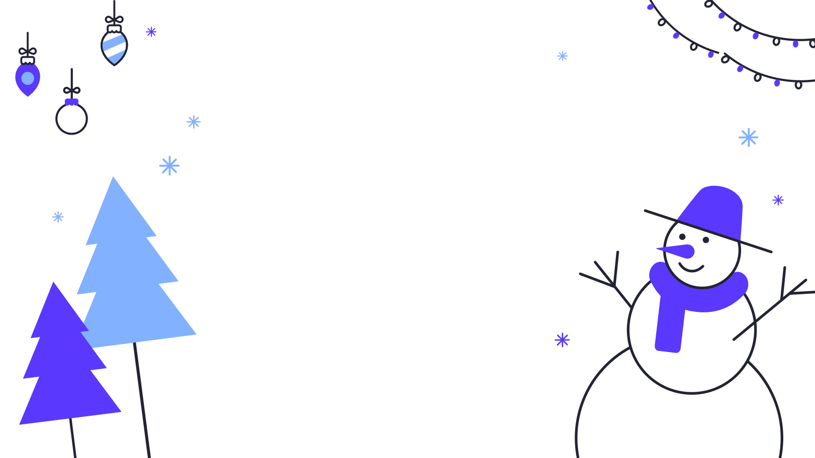 Christmas snowman Clipart illustration in PNG, SVG