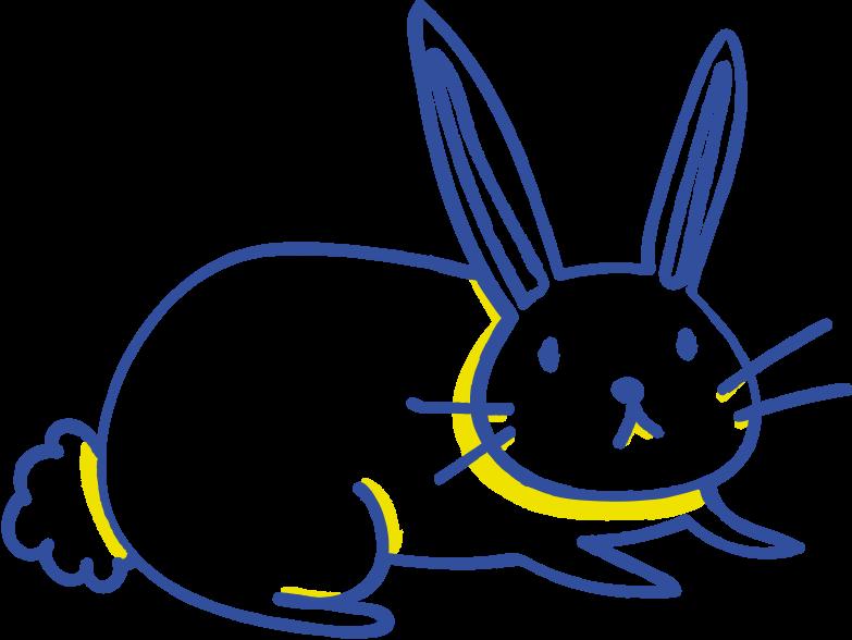 rabbit Clipart illustration in PNG, SVG