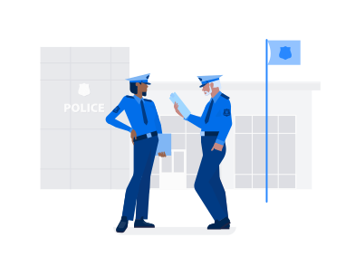 style Police images in PNG and SVG | Icons8 Illustrations
