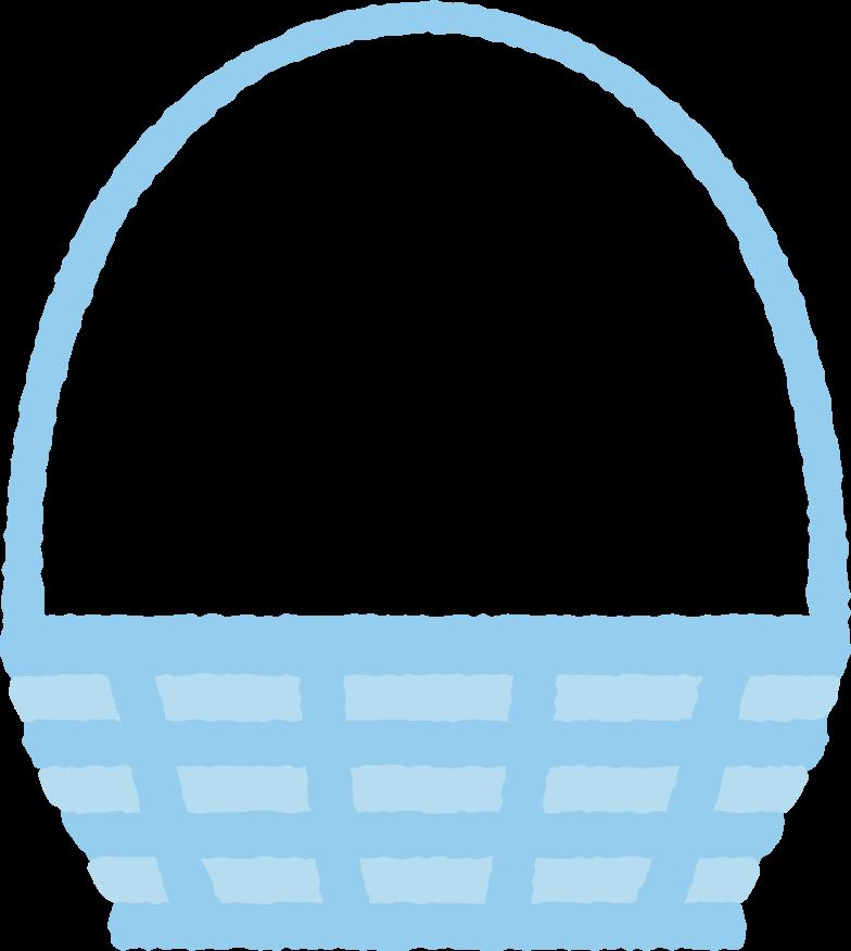 Korb mit langem griff Clipart-Grafik als PNG, SVG