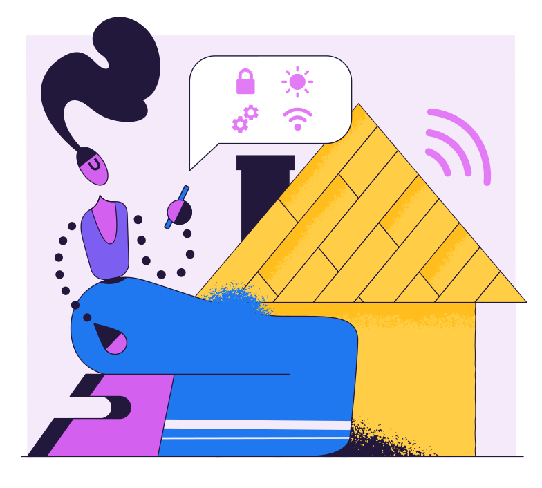 style Smart House Vector images in PNG and SVG | Icons8 Illustrations