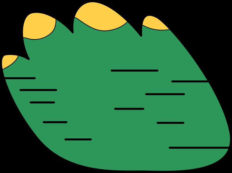 Ilustração de clipart de arbusto em PNG e SVG