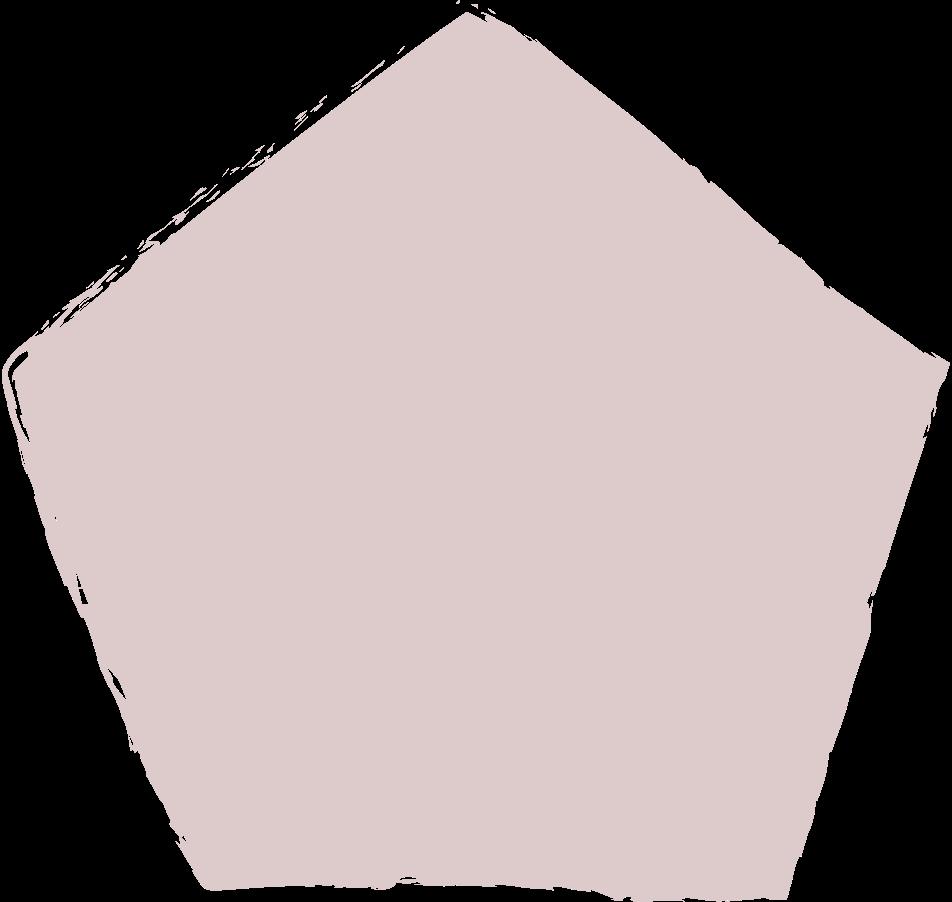 pentagon-dark-pink Clipart illustration in PNG, SVG