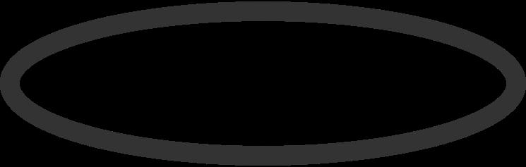 oval Clipart illustration in PNG, SVG