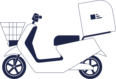 style motorbike delivery images in PNG and SVG | Icons8 Illustrations