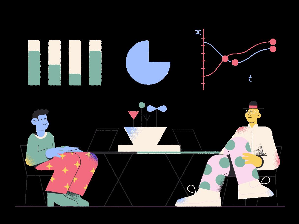 pensamento empresarial Clipart illustration in PNG, SVG