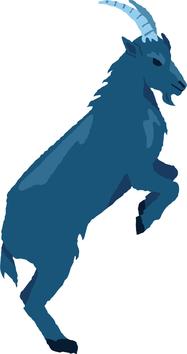 goat jumping Clipart illustration in PNG, SVG