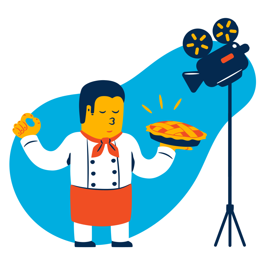 style Cooking show Vector images in PNG and SVG | Icons8 Illustrations