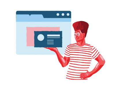 style Making a post on the Internet images in PNG and SVG | Icons8 Illustrations