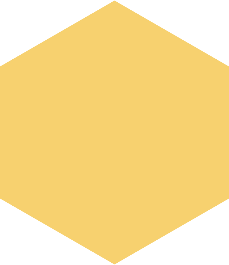 hexagon yellow Clipart illustration in PNG, SVG