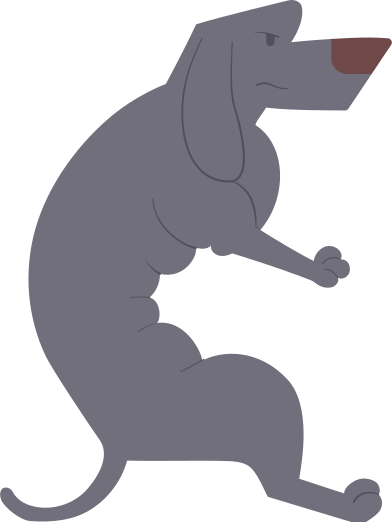 style dachshund gray images in PNG and SVG | Icons8 Illustrations